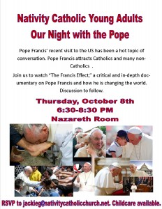 2015 CYA Night 2 - Night with the Pope