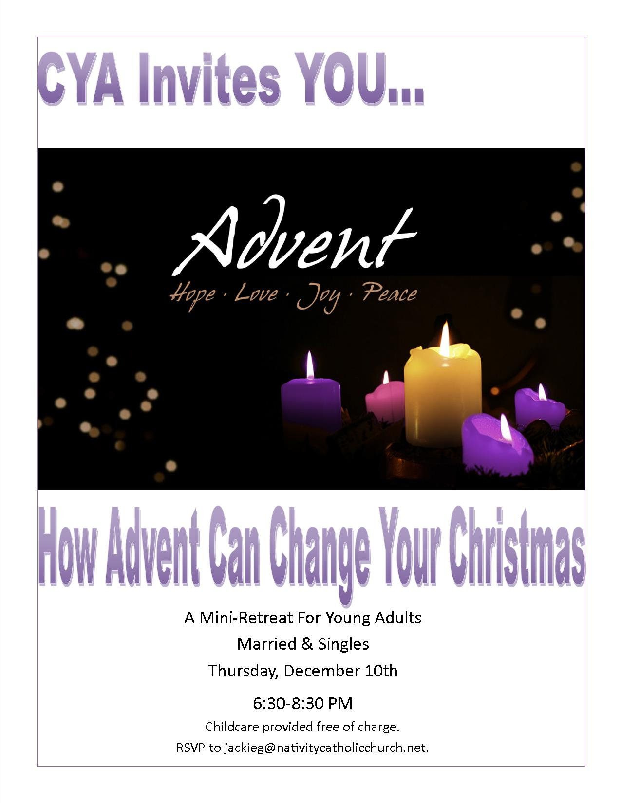 Advent Mini-Retreat