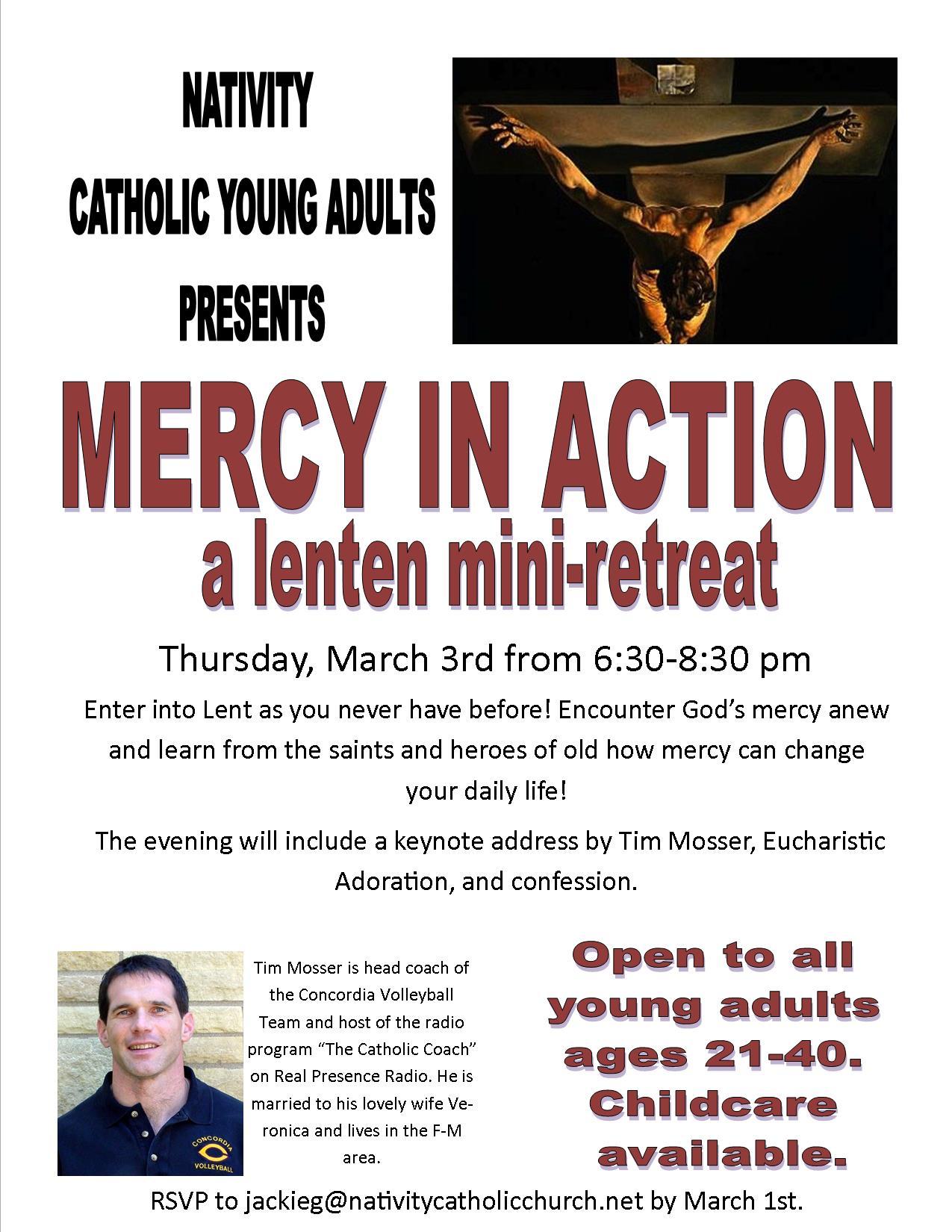 Lenten mini-retreat
