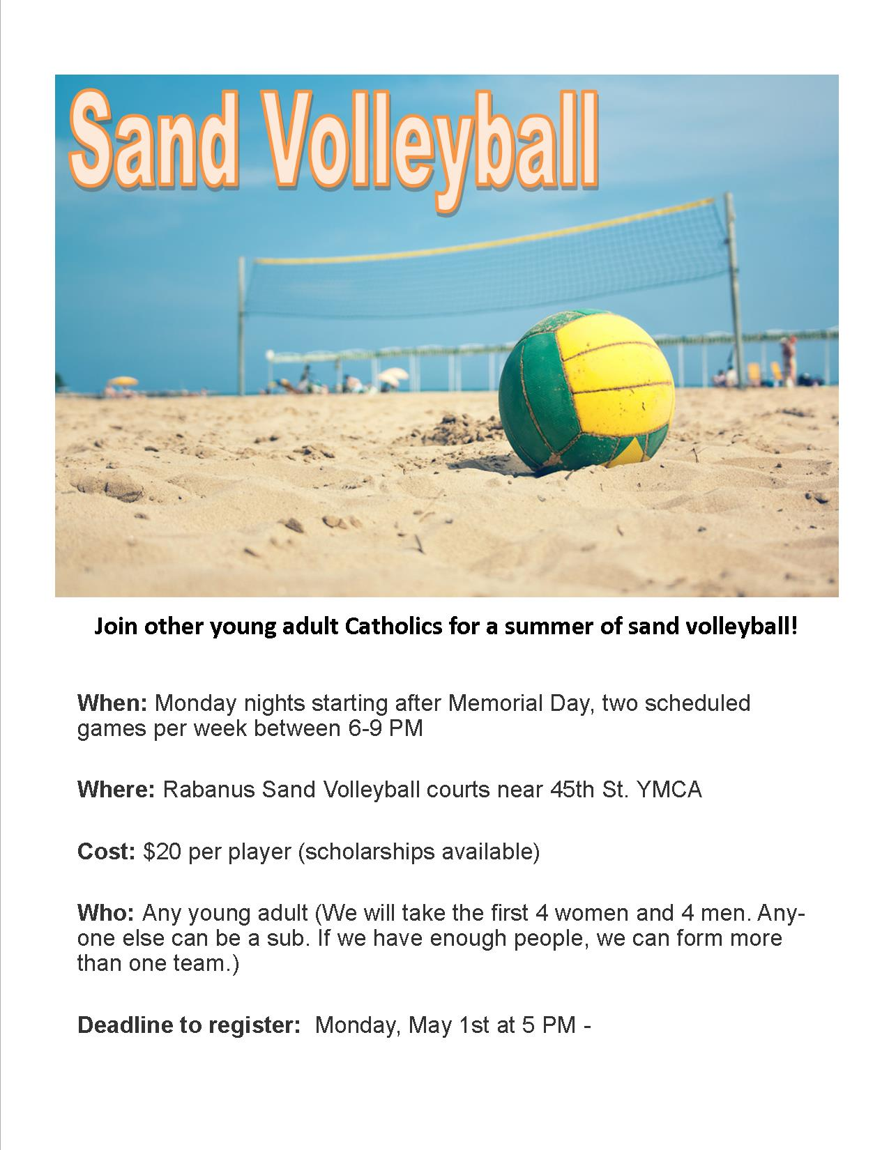 Summer Sand Volleyball 2017